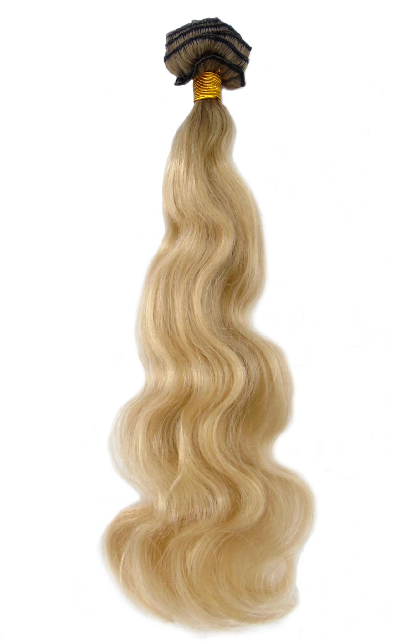 Trasselfritt Europeiskthår blond