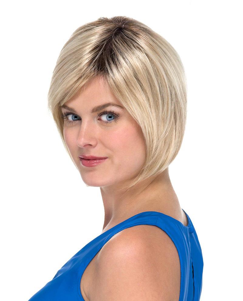 En kort bob frisyr peruk Europeiskt hårkvalite
