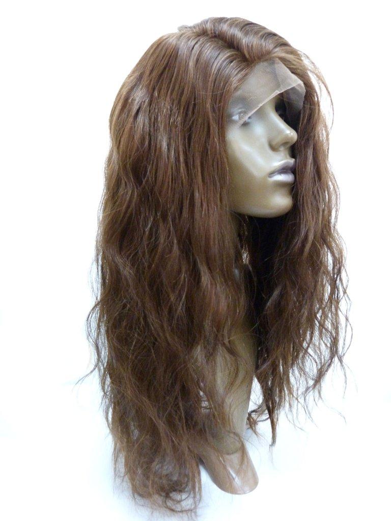 Helperuk med europeiskt hår
