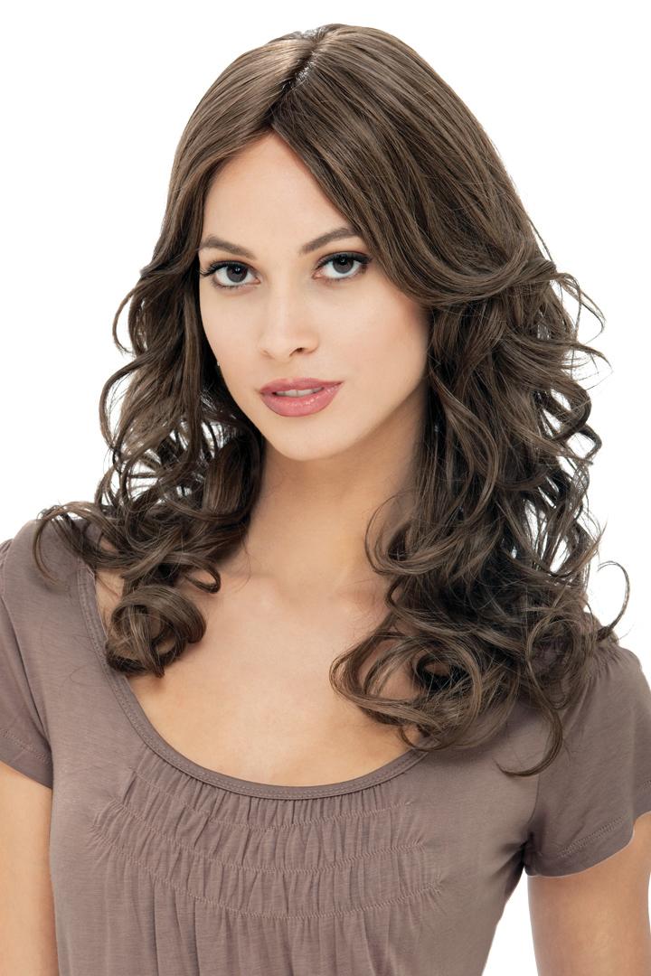 Europeiskt hår med Mono top och franskt part