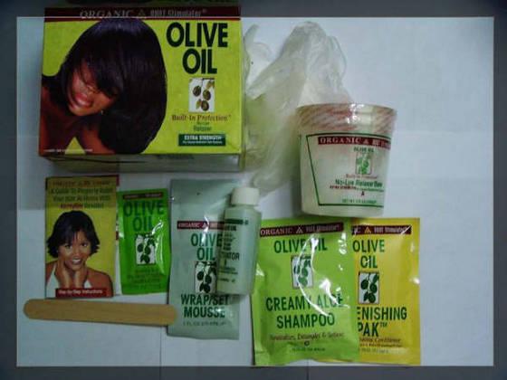 Olive oil relaxer kit EXTRA STARK