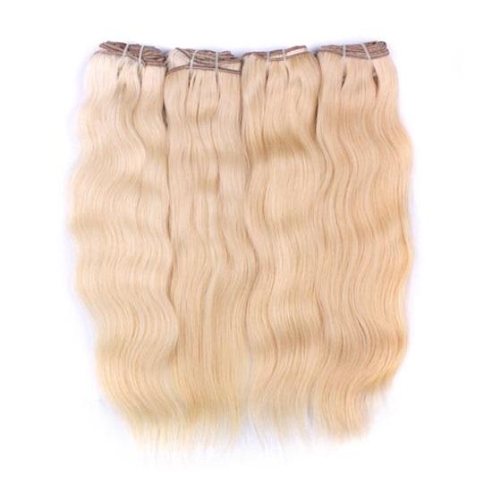 Europeiskt blond trasselfritt