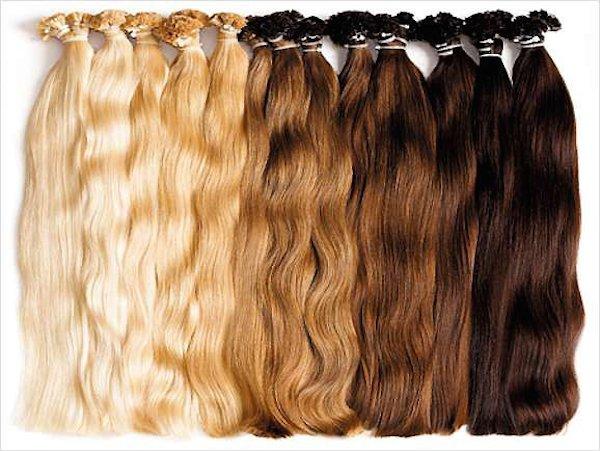 Äkta Remy hår