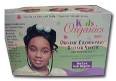 Organic relaxer kids för rakpermant